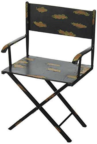 Design Toscano MH01257 Sculpture de Chaise de réalisateur, Rouge, 11,5 x 16,5 x 26,5 cm