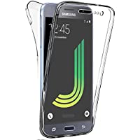 Coque Gel 360 Protection INTEGRAL Transparent INVISIBLE Samsung Galaxy J3 (2016) SM-J320F + Stylet + 3 Films OFFERTS