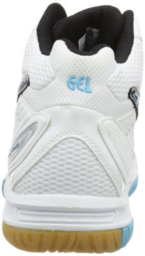 Asics GEL-TASK MT Damen Volleyballschuhe Weiß (white 0140)