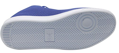 CROSSHATCH New Chaussures Hommes Designer Sangles Chaussures Mesh Sneakers formateurs occasionnels Surf Blue
