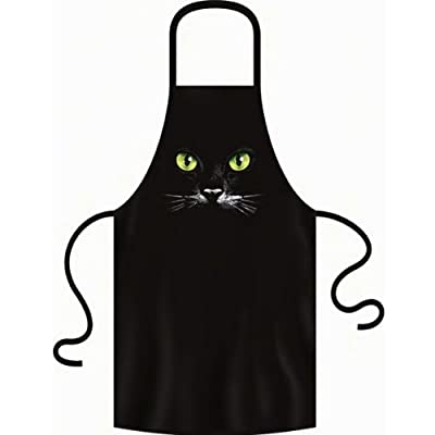 Katzen Schwarze Katze Schürze Einheitsgröße Fb schwarz