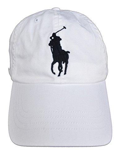 Polo Ralph Lauren Hut Klassische Herrenmütze Baseball Caps (Bianco)
