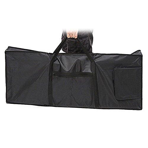 Zimo® Black E-76Schlüssel Tastatur Piano Organ Tragetasche Fall tragbar (Yamaha-klavier-schlüssel)