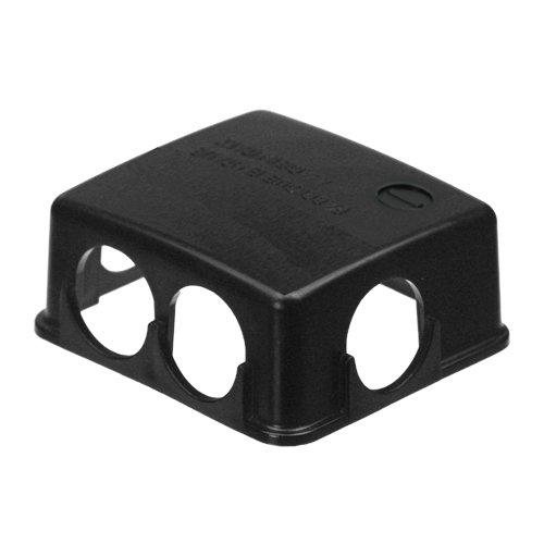 Preisvergleich Produktbild Batteriepolabdeckung Schutzkappe Polabdeckung Batterie schwarz PVC