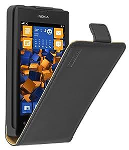 mumbi PREMIUM Leder Flip Case für Nokia Lumia 520 Tasche