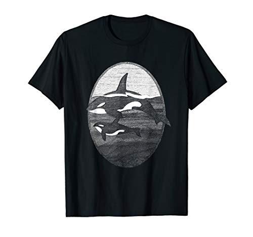 best service 58b91 35b49 Schwertwal-Wal für Killerwal Sea Panda Lovers T-Shirt