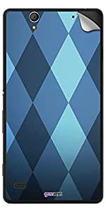 GsmKart SXC4 Mobile Skin for Sony Xperia C4 (Blue, Xperia C4-886)