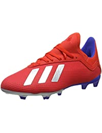 wholesale dealer 39f3e 285bb adidas X 18.3 Fg J Scarpe da Calcio Unisex-Adulto, (Multicolor 000)