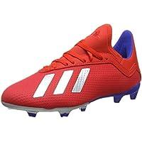 wholesale dealer bac28 65489 adidas X 18.3 Fg J Scarpe da Calcio Unisex-Adulto, (Multicolor 000)