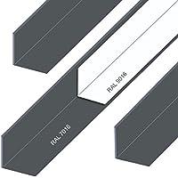 Aluminium Winkel Aluwinkel Walzblankes Aluprofil Winkelprofil Pulverbeschichtet 30x20x2mm 2000mm Weiß RAL9016