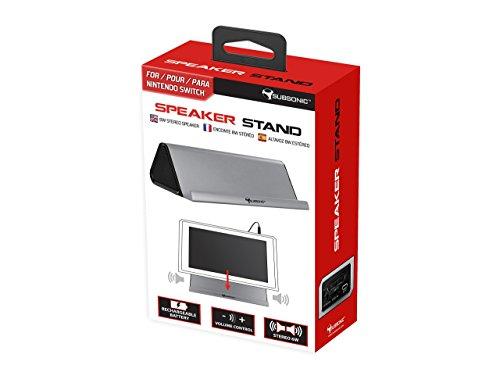 Support audio avec enceinte pour Nintendo Switch - Puissance 2 x 3W