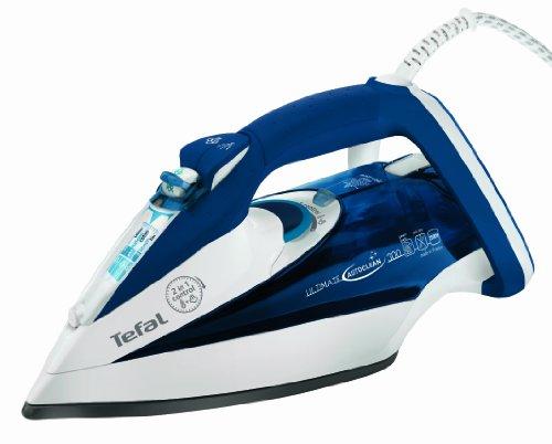Tefal FV 9530 Ultimate Autoclean - Plancha de vapor con autolimpieza, color azul