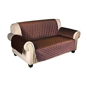Puppymate Sofaschoner Sofabezug 3 Sitzer Wasserdicht Anti Rutsch Schwarz Grau Koffee
