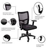 "Seat chacha Brio Home Office Chair with Nylon Base & castors 26""*24""*37"" Office"