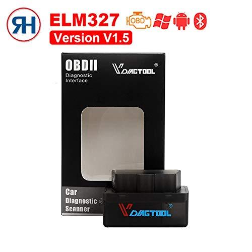 FIOLTY OBD2 Car-Detector Herramienta Super Mini ELM327