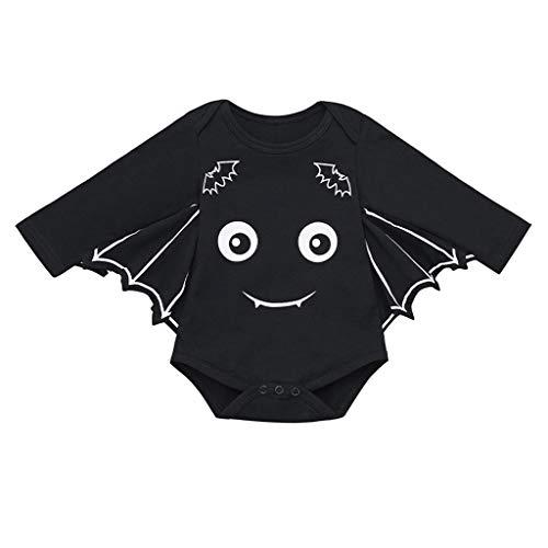 80's Kostüm Cartoons Aus Den - Tensay Neugeborenes Baby Jungen Baby Mädchen Halloween Cartoon Fledermaus Kostüm Strampler Outfits