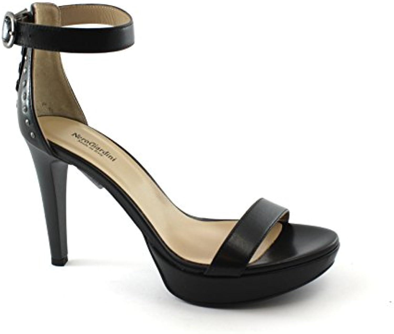 Nero Giardini 06050 Noir Femmes Chaussures Talon  Talons s à Talons  en Cuir ferméB07BTY57K1Parent b7b8a9