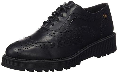 XTI Donna Zapato Sra Metalizado Negro . Scarpe Nero Size: 37
