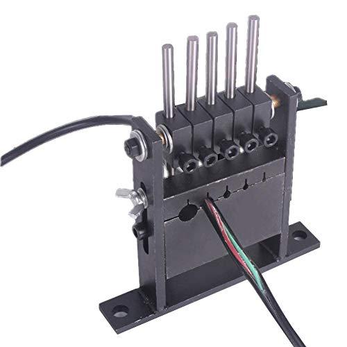 Jannyshop 5 Halter Hand-Pull-Betrieb Abisolierwerkzeug Maschine Stripper Durchmesser 1-30MM für Haushaltsdraht, Flexibler Draht, einadriger Draht, Kabel