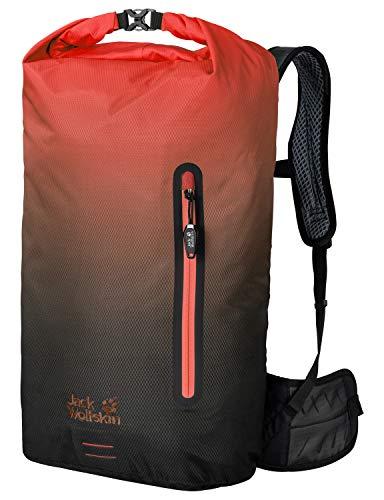 Jack Wolfskin Halo 26 Pack Fahrrad Wander Rucksack, Aurora orange, ONE Size (Halos Orangen)