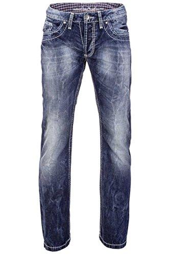 Camp David Herren Jeans Boot Cut NI:CK:R611, Farbe: Blau, Größe: 29/32