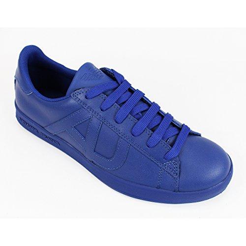 Armani Jeans  06565YO, Baskets  homme 05 ROYAL BLUE