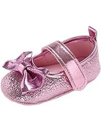 3625e5d41 Zapatos de para Bebé Niñas Otoño Invierno PAOLIAN Zapatos de Primeros Pasos  Suela Blanda Bautizo Antideslizante Boda Princesa…
