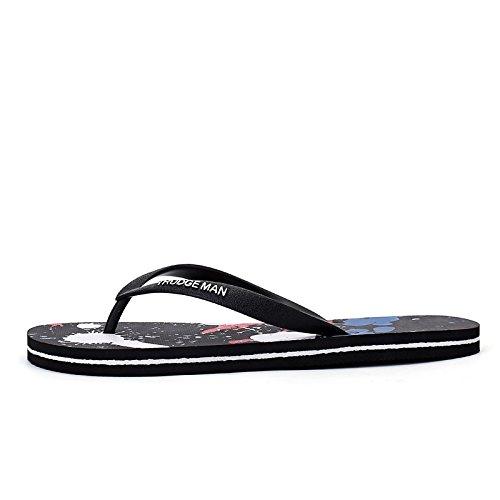 Chaussons pour hommes, les hommes dété décontracté en plein air sandales, chaussures de plage anti-dérapants Claret