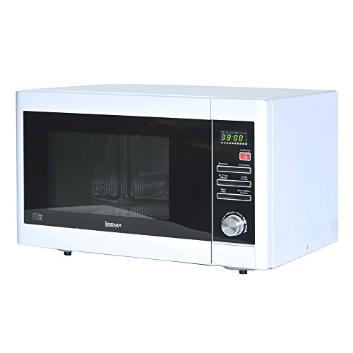 Igenix IG3093 Solo Digital Microwave, 5 Power Levels and 10 Auto Cooking Menus, Defrost Function and 95 Minute Timer, 900 W, 30 Litre, White