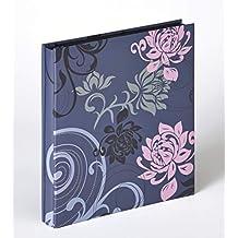walther design EA-201-L Einsteckalbum Grindy Trend, blaugrau, 400 Fotos 10x15 cm