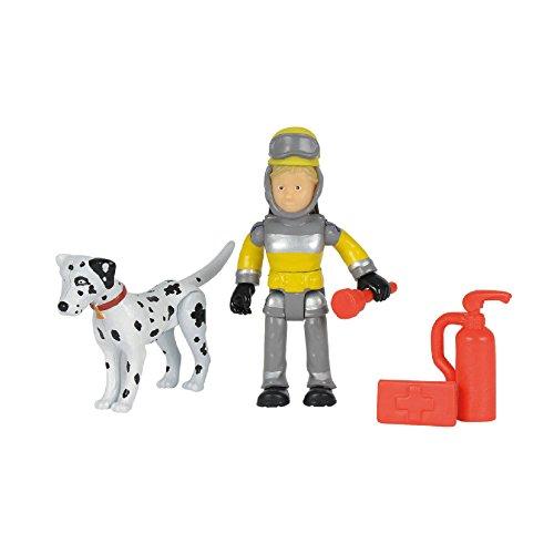 Simba Feuerwehrmann Sam - Sam Tierrettung Figuren Set, Penny und Schnuffi