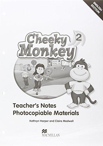 Cheeky Monkey 2 Teacher's Book por Kathryn Harper, Claire Medwell