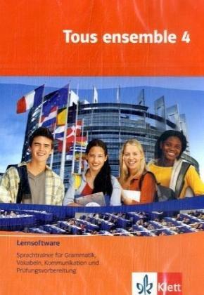 Tous ensemble, Ausgabe ab 2004, Bd.4 : 4. Lernjahr, Lernsoftware, 1 CD-ROM Sprachtrainer für Grammatik, Vokabeln, Kommunikation und Prüfungsvorbereitung. Für Windows 98 (SE)/ME/NT/2000/XP/Vista. Einzellizenz