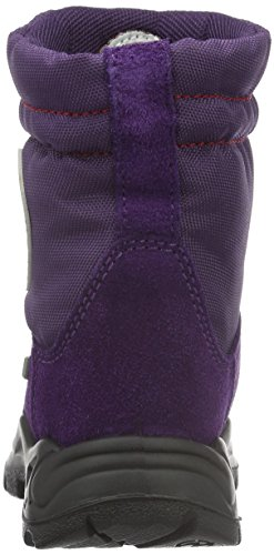 Naturino Naturino Coe., Bottes mi-hauteur avec doublure chaude fille Violet - Violett (Plaume_9105)