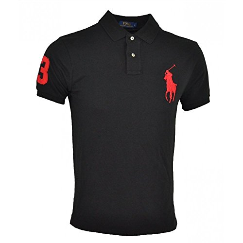 authentique-polo-ralph-lauren-big-pony-m-noir