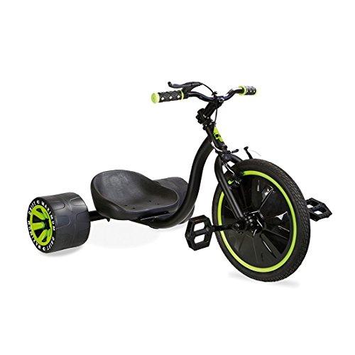 """Madd Drift Trike 16\"""" Drifter Dreirad Rutscher grün/schwarz"""