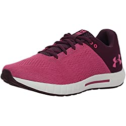 Under Armour UA W Micro G Pursuit, Zapatillas de Running para Mujer, Rojo (Merlot), 41 EU