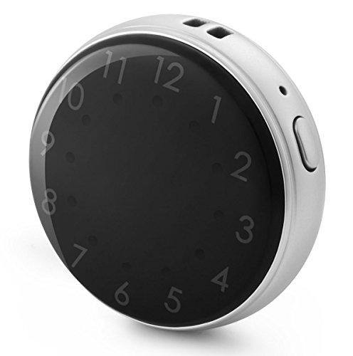 VIDIMENSIO GPS-Tracker-Uhr 'Guardian - silber (Wifi)' OHNE Abhörfunktion, GPS Ortung, Schutz für Erwachsene o.ältere Menschen, SOS + Telefonfunktion, App + Bedienungsanleitung +...