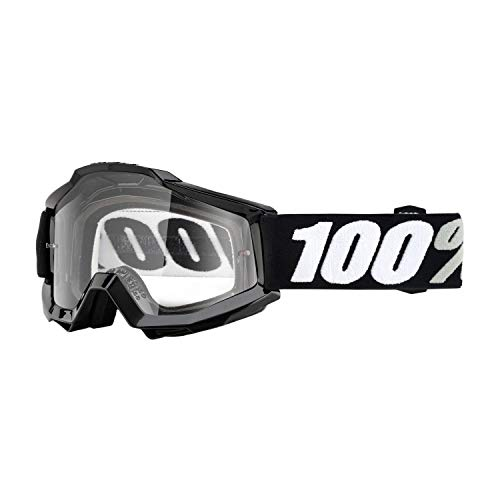 Inconnu 100% Accuri OTG Tornado máscara de bicicleta de montaña unisex, Negro
