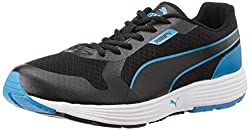 Puma Mens Future Runner DP Black and Cloisonn Mesh Running Shoes - 10UK/India (44.5EU)