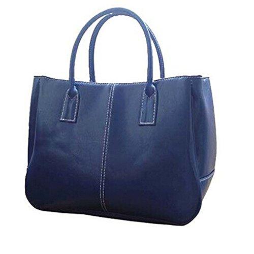 GSPStyle 002861-P, Borsa a spalla donna blu (blu)
