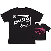 Spoilt Rotten SR - Future Rockstar Princess & Daddy - conjunto de regalo para padres y