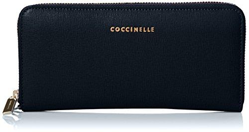Coccinelle - Metallic Saffiano, Pochette da giorno Donna Blu (Bleu)