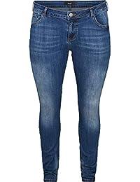 Damen Hose Jeans Jeanshose Gerades Bein Schwarz Grau 42 44 48