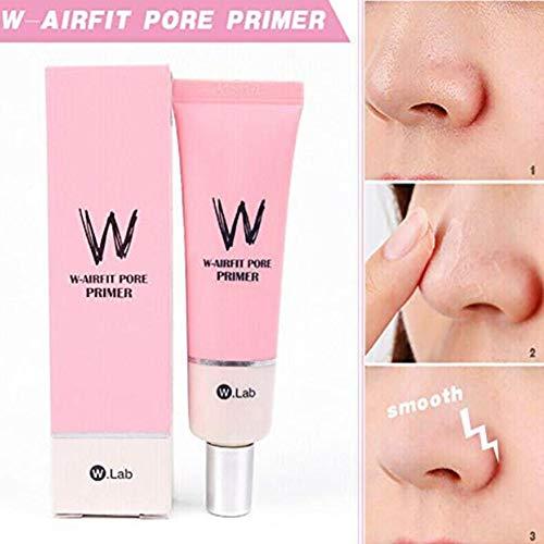 gaeruite W-Airfit Pore Primer, 2PCS Primer Cream Makeup Face Concealer Cover Cream Cover Skin 35G -