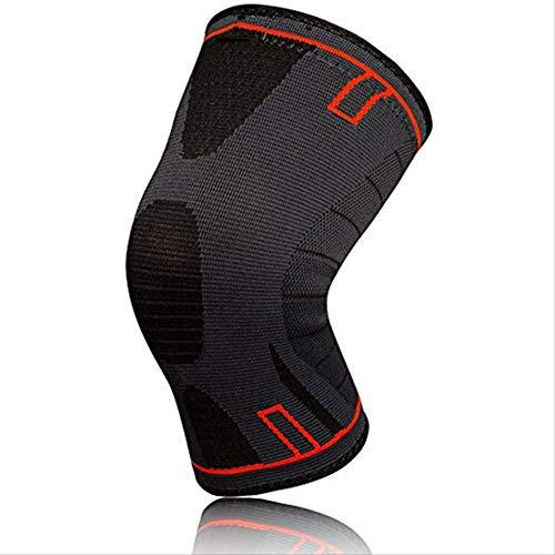 FFDHXD Kniepolster Knieorthese Knieunterstützung Für Laufen Arthritis Meniskusriss Sport Gelenkschmerzen Linderung Und Verletzungen Erholung Pads XXL Wie die Show Rot (Xxl Knieorthese Arthritis Für)