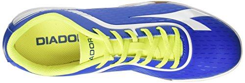 Diadora Herren 7fifty Id Indoor-Fußball-Schuhe Blau (Azzurro/bianco)