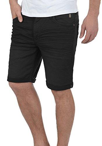 BLEND Diego Herren Jeans-Shorts kurze Hose Denim aus hochwertiger Baumwollmischung Black (70155)