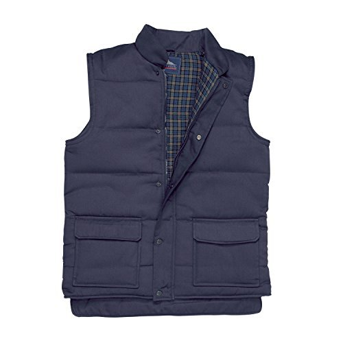 Portwest S410NARXL Padded Vest Aran Vessels Blue, XL by Portwest