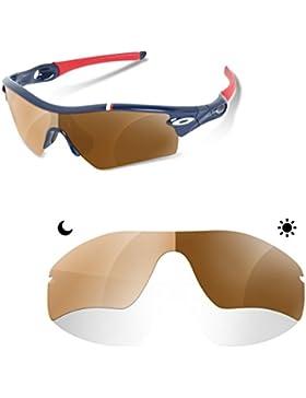Sunglasses Restorer Lentes Fotocromatica Marron 30- 45 %de Recambio para Oakley Radar Path